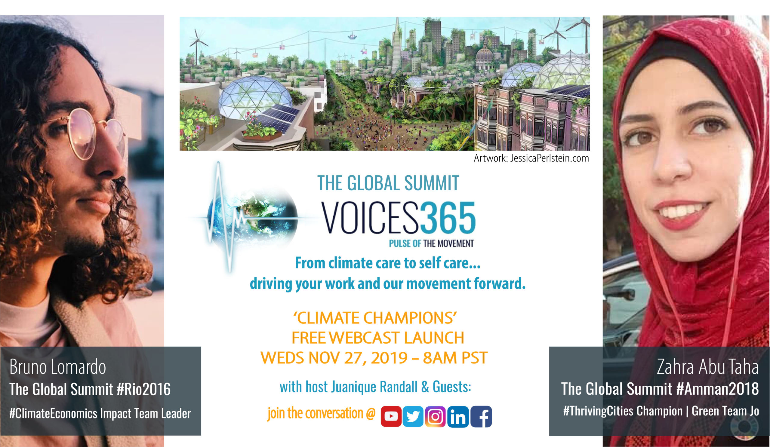 Climate Champions Webcast Launch