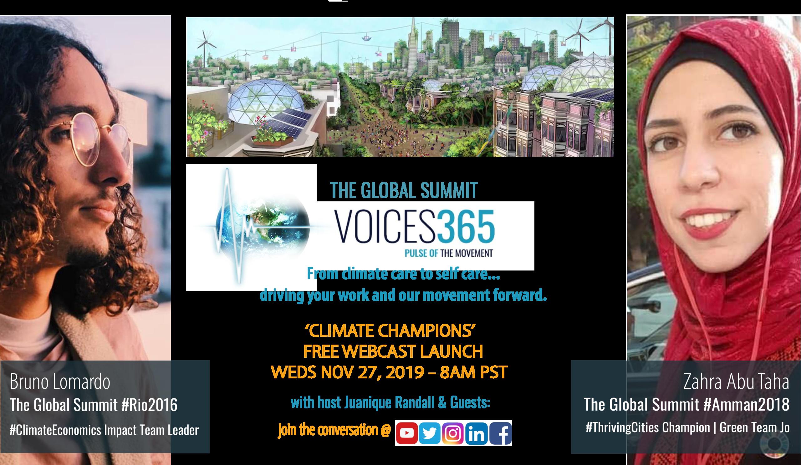 Climate Champions Webcast Launch