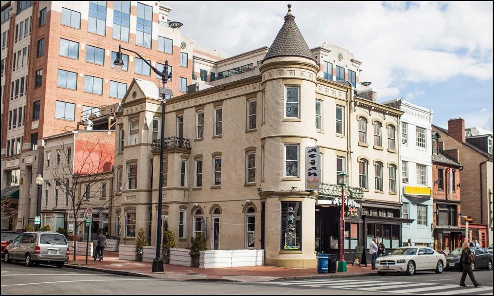 Building at 717 H St NW Washington DC