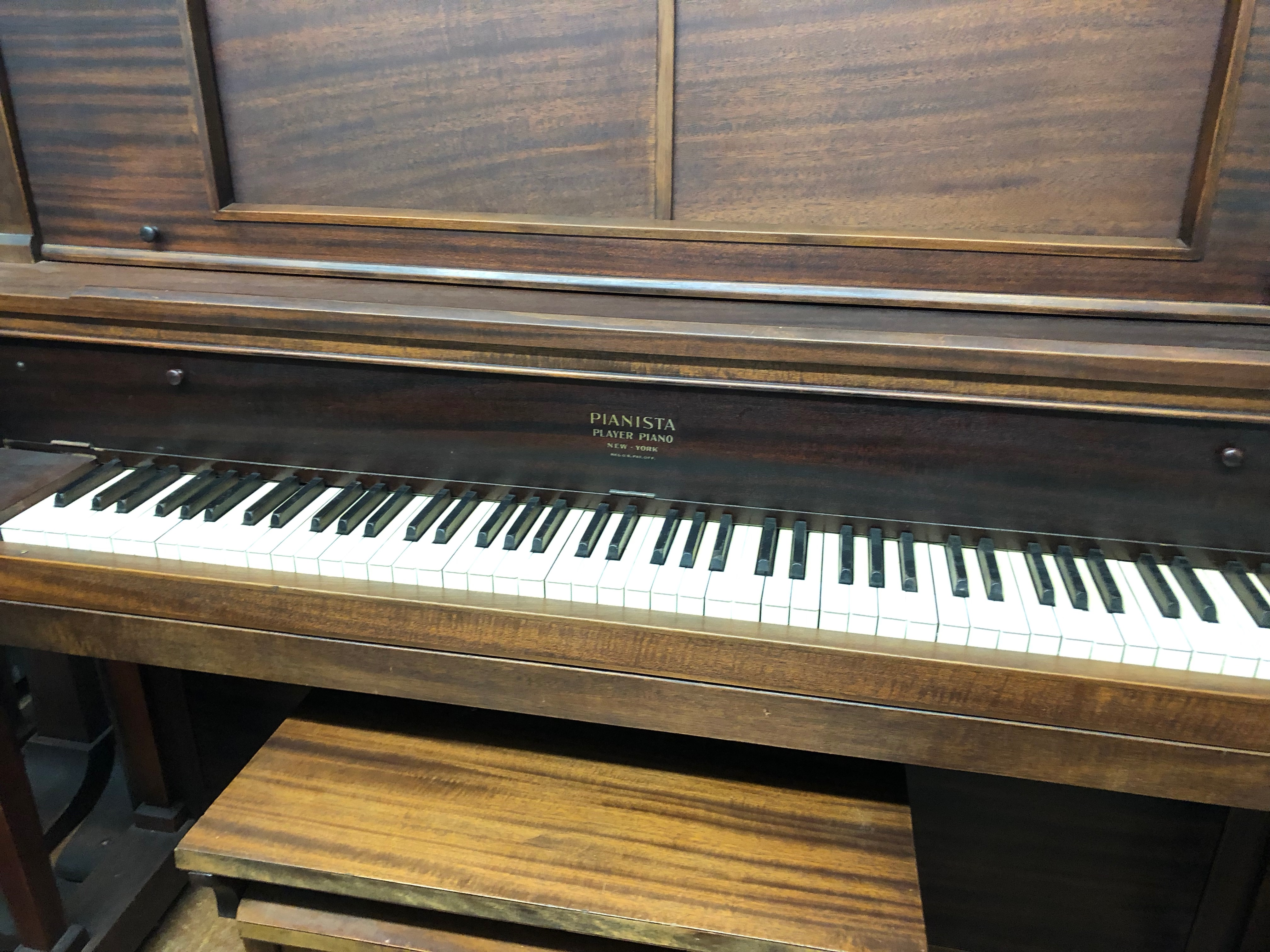 Kohler and Campbell Player Piano