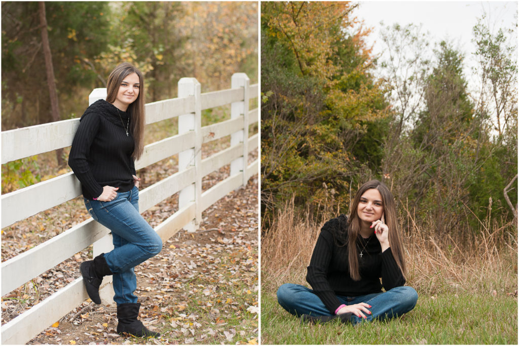 High School Senior portraits in the fall are awesome!