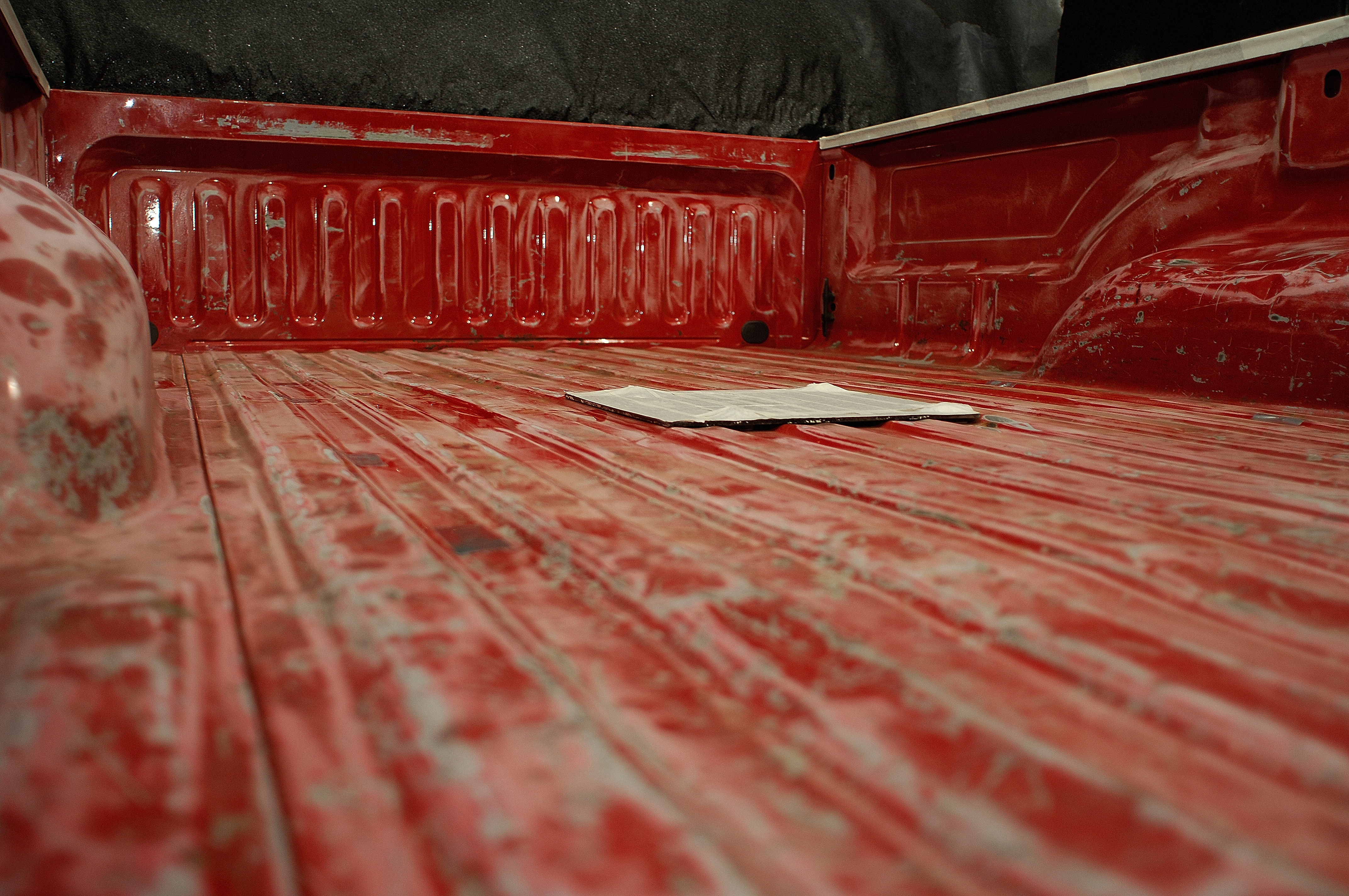Scratched Red Bed