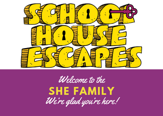 welcome to schoolhouse escapes