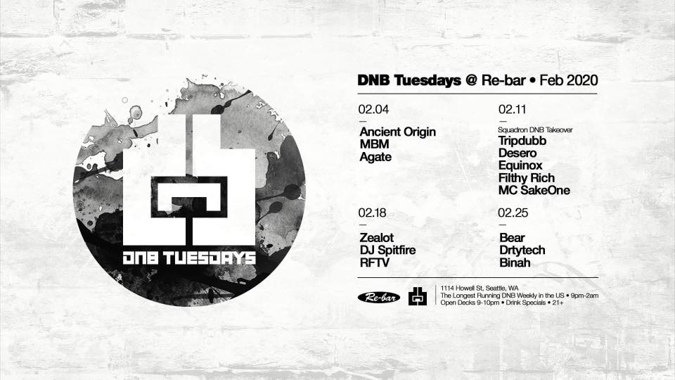 Zealot at DNB Tuesdays Feb 18