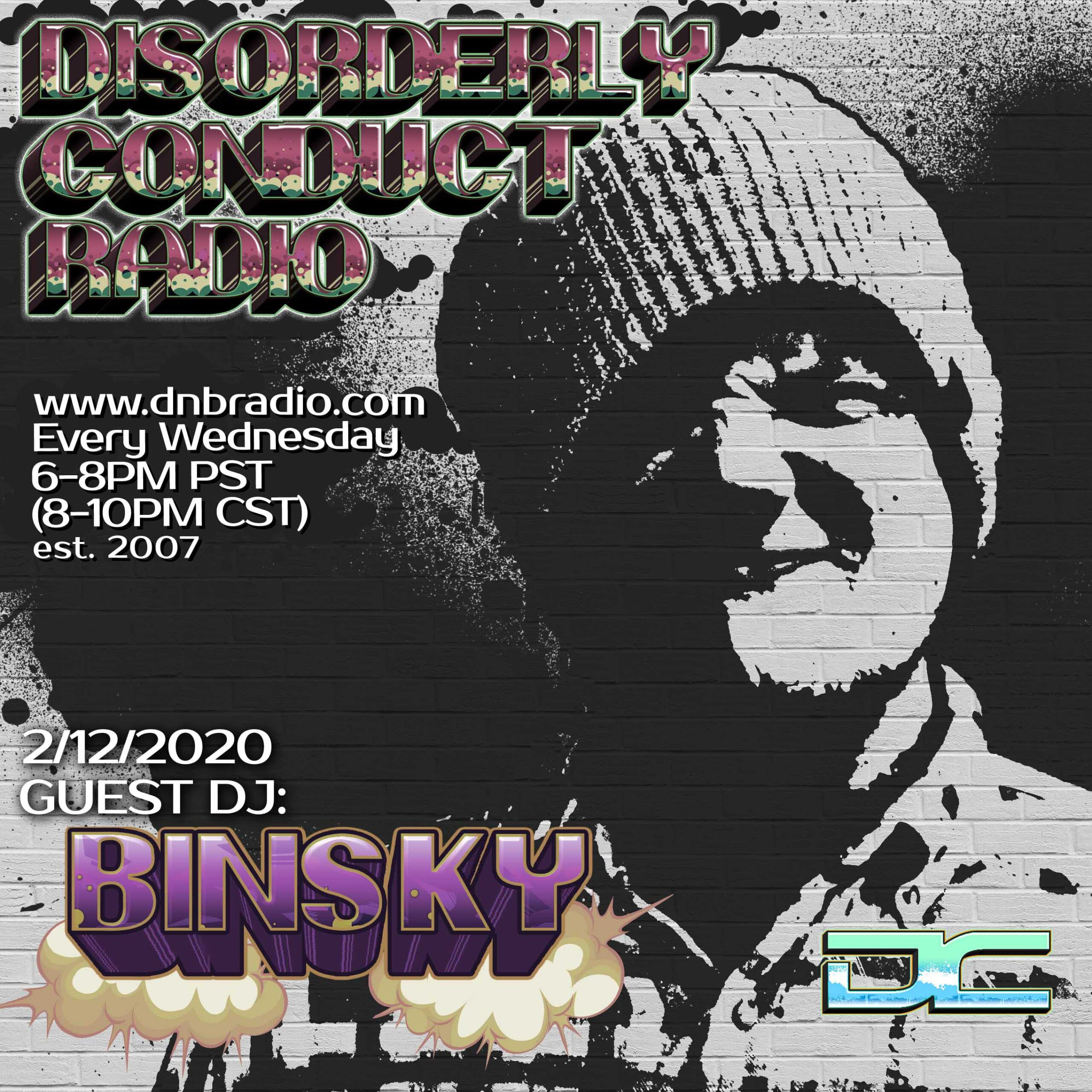 Mr. Solve and Binsky – Disorderly Conduct Radio 021220