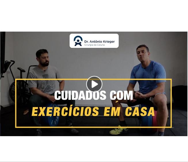 VÍDEO: Cuidados com exercícios em casa