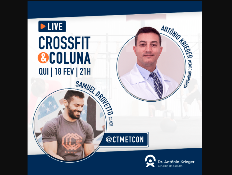 Live – Crossfit e Coluna