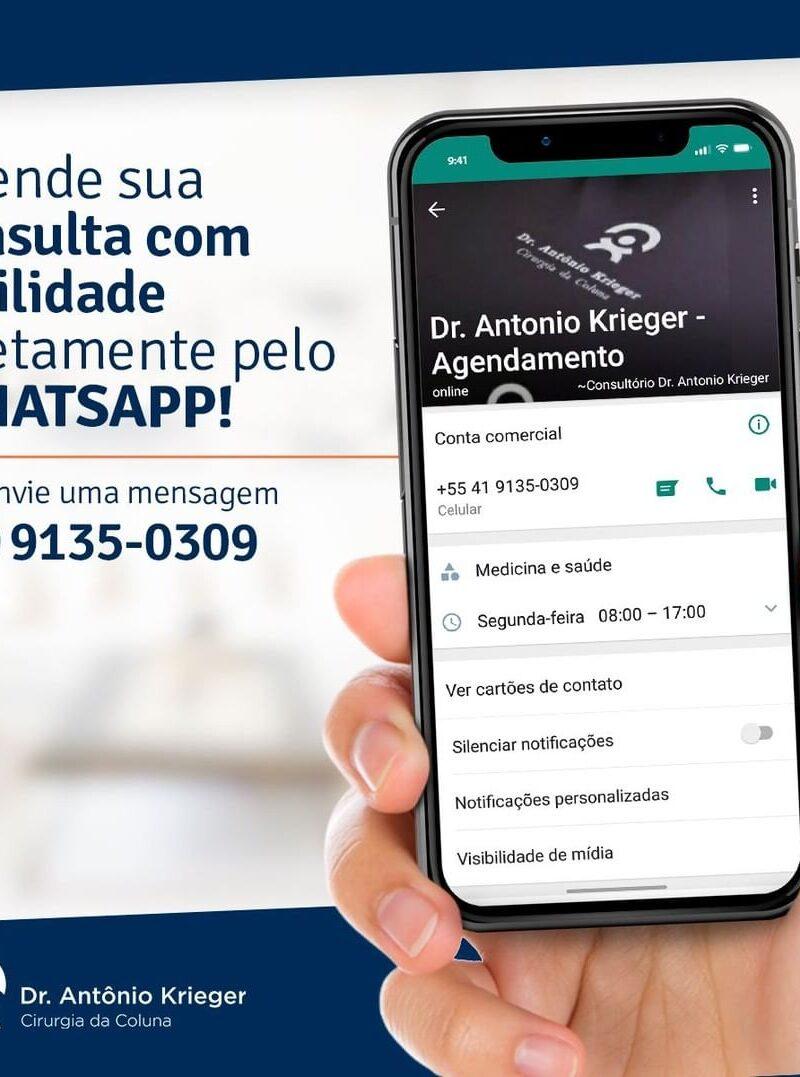 Agende sua consulta diretamente pelo WhatsApp!