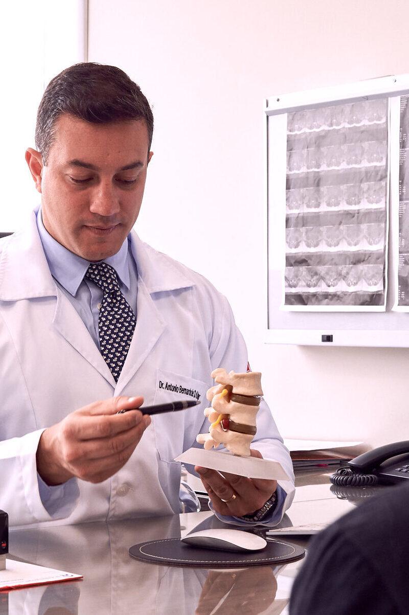 Como os discos intervertebrais são nutridos?