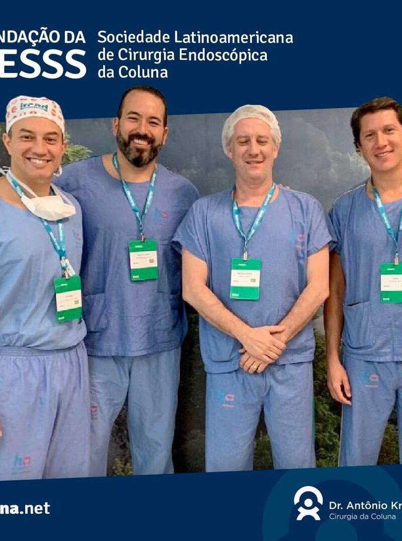 Fundação da Sociedade Latinoamericana de Cirurgia Endoscópica da Coluna