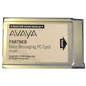 Partner Voice Message PC Card Small
