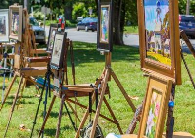 Gloucester Arts Festival Plein Air Painting 2017