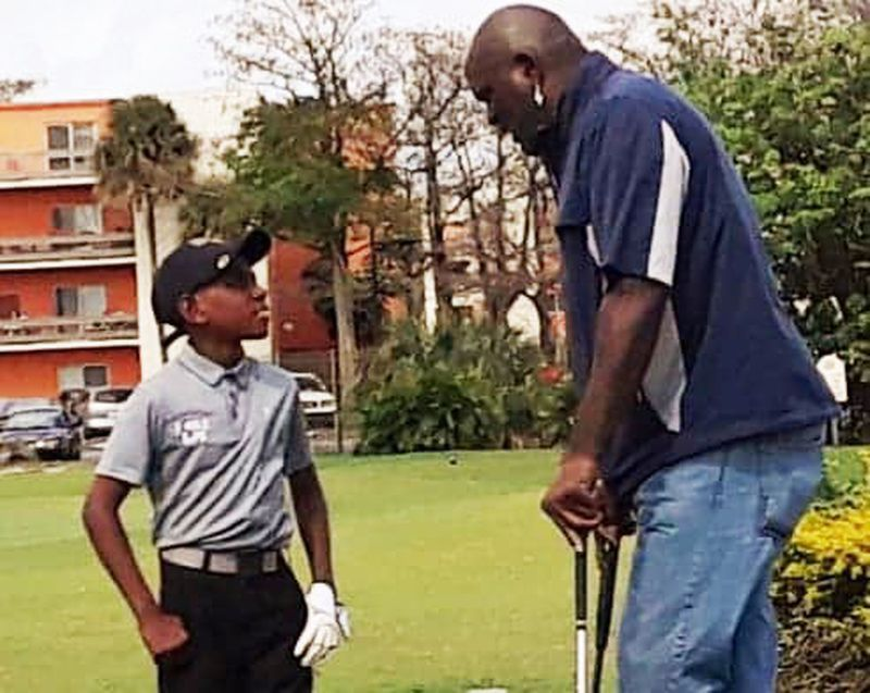 Fore Life junior golfer making some noise on the links