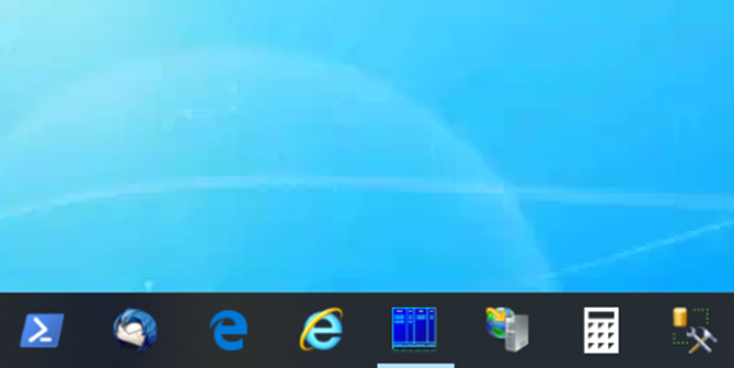 Local taskbar won't hide during remote desktop session