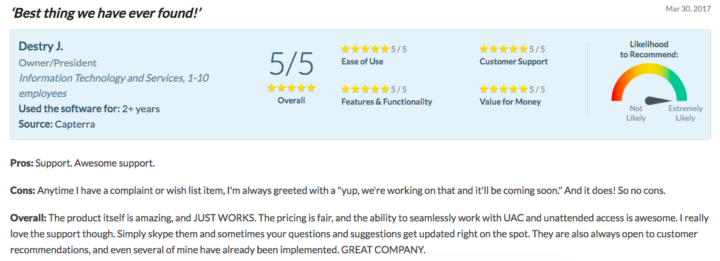 FixMe.IT - Customer support review