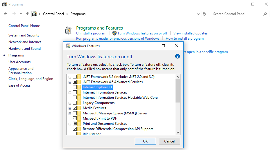 How to Disable Microsoft Edge and Internet Explorer in Windows 10