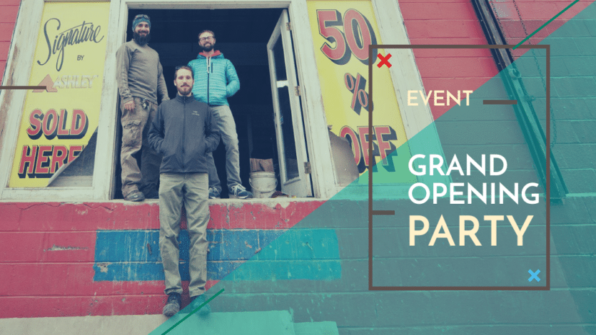 Grand Opening Party