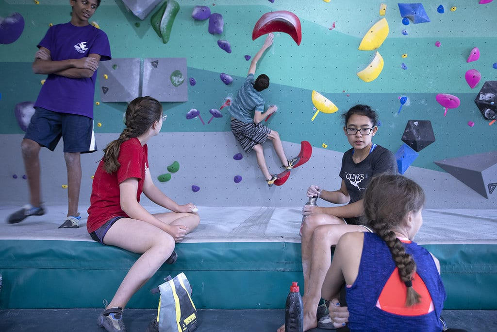 Youth Climbing Programs