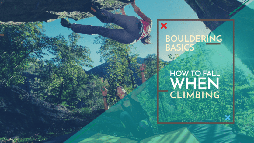 Bouldering Basics: How to Fall When Climbing