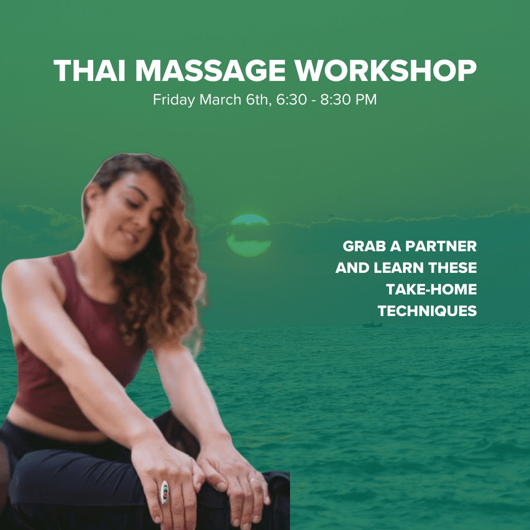 Grab a partner and Learn how to perform Thai massage