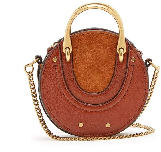 Chloe Pixie Leather and Suede Crossbody Bag-Meghan Markle