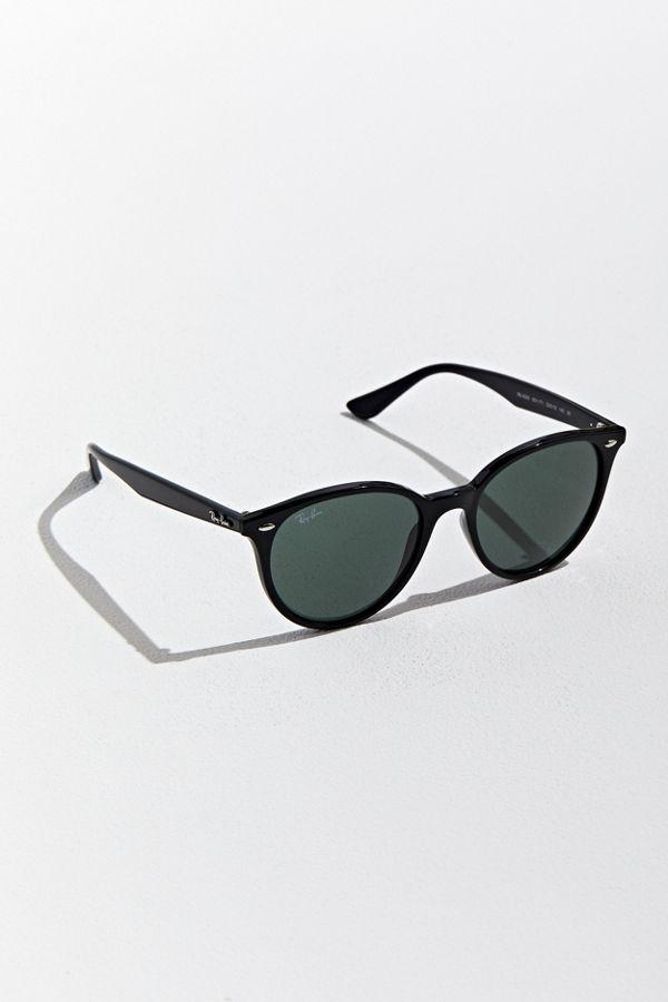 Ray-Ban Black Highstreet Round Sunglasses-Meghan Markle