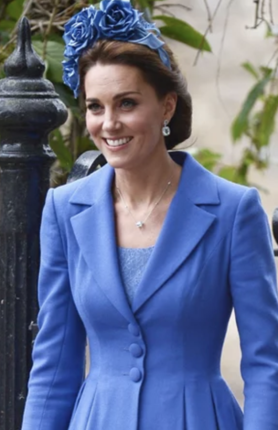 Duchess of Cambridge in Catherine Walker for Country Wedding