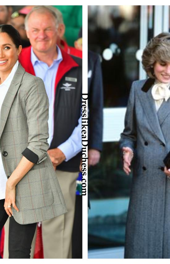8 Times Meghan Markle's Maternity Style Channeled Princess Diana