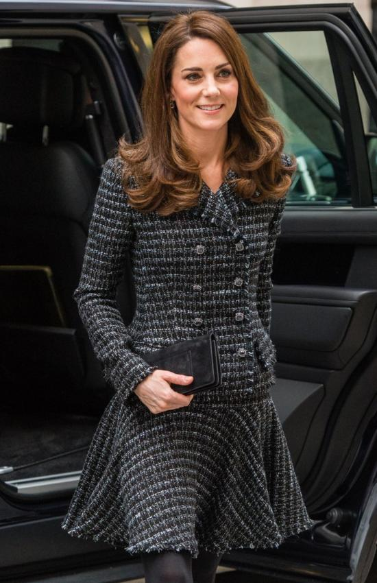 The Duchess of Cambridge in Dolce and Gabbana for Mental Health Conference
