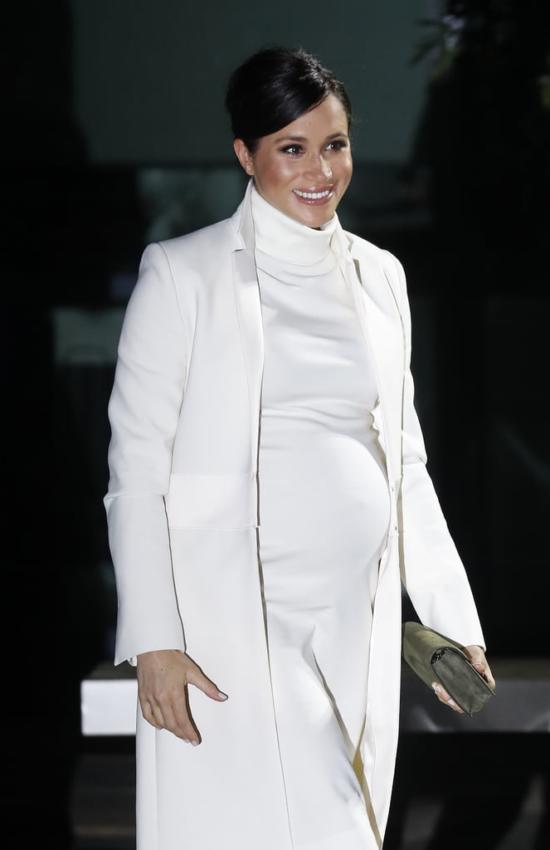 Meghan Markle Wears Calvin Klein Dress for Wider Earth Gala