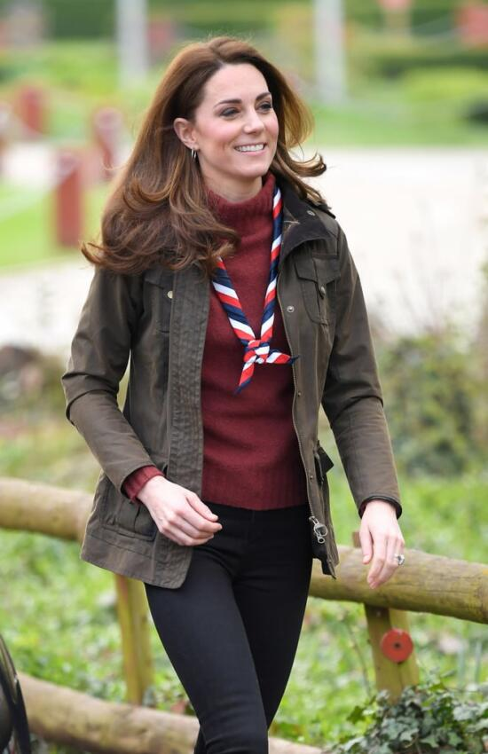 The Duchess of Cambridge Meets Scouts at Gilwell Park