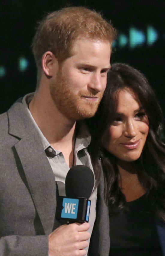 Meghan Markle Makes Surprise Appearance at WE Day UK