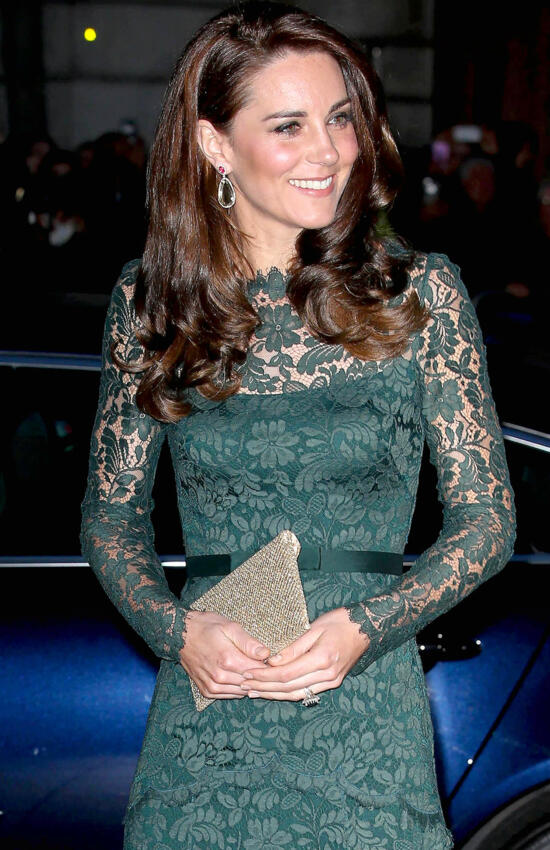 Kate Middleton's 9 Best Lace Dress Moments