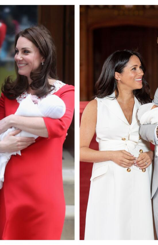 5 Special Things Meghan Markle and Kate Middleton's Post Baby Fashions Reveal