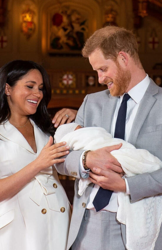 Meghan Markle Introduces Newborn Son Archie to the World