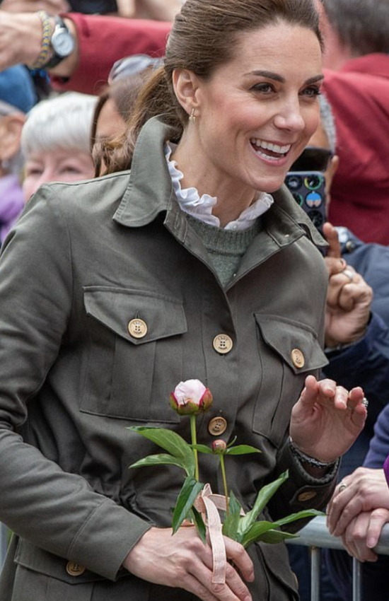 The Duchess of Cambridge Visits Cumbria with Prince William