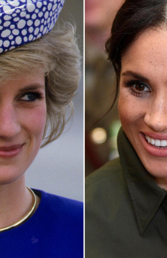 5 Times Meghan Markle Stepped Out in Princess Diana's Jewelry