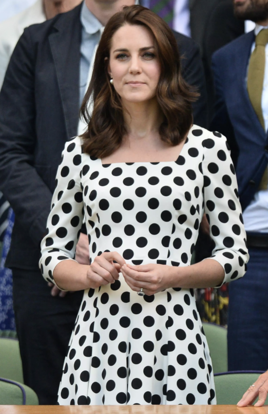 12 of Kate Middleton's Best Polka Dot Fashion Moments