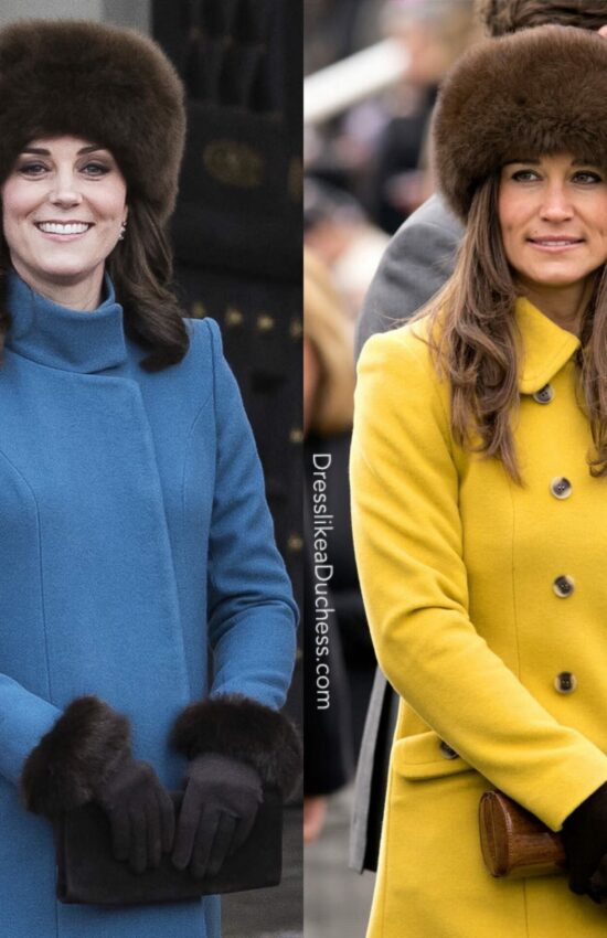 22 Times Kate Middleton and Pippa Middleton Dressed Alike