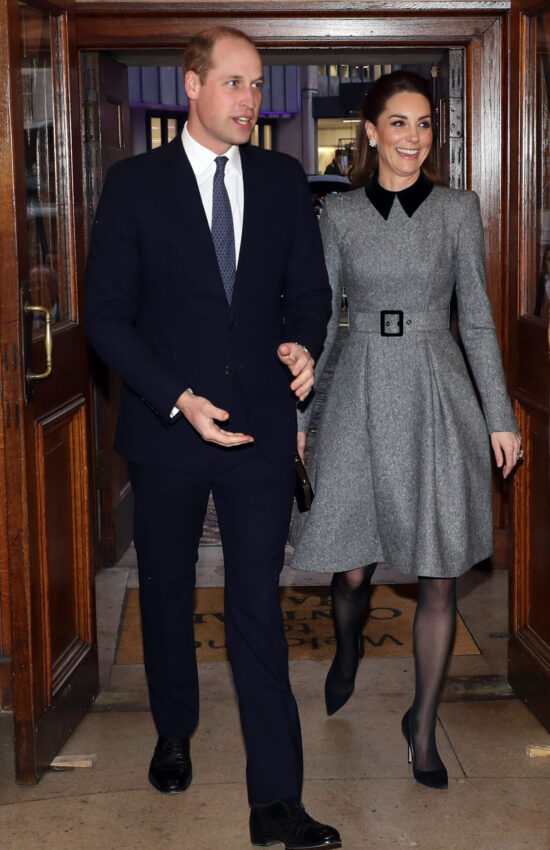 Duchess of Cambridge in Repeat Catherine Walker for Holocaust Memorial