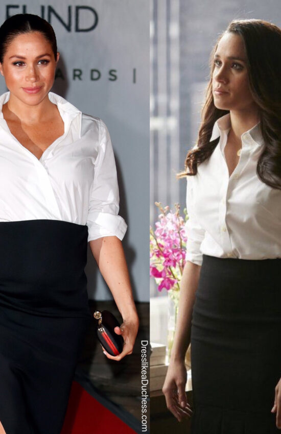 12 Times Meghan Markle Borrowed Style Inspo from her Suits Closet for her Royal Wardrobe