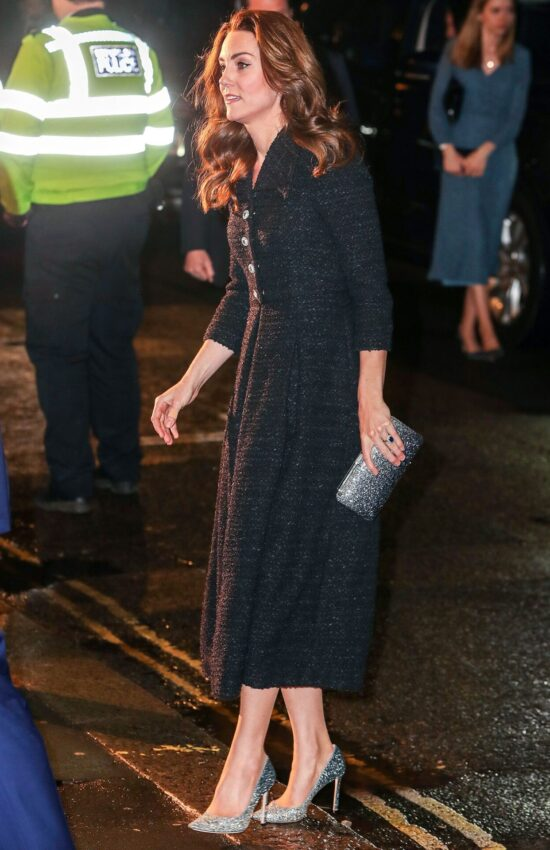 Duchess of Cambridge in Eponine London for Evan Hansen Theatre Performance