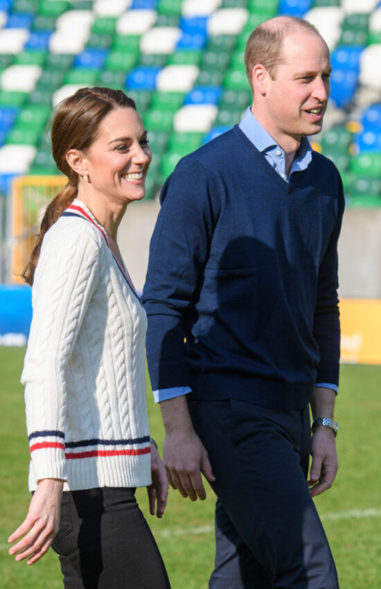Kate Middleton's Best Cable Knit Sweater Moments
