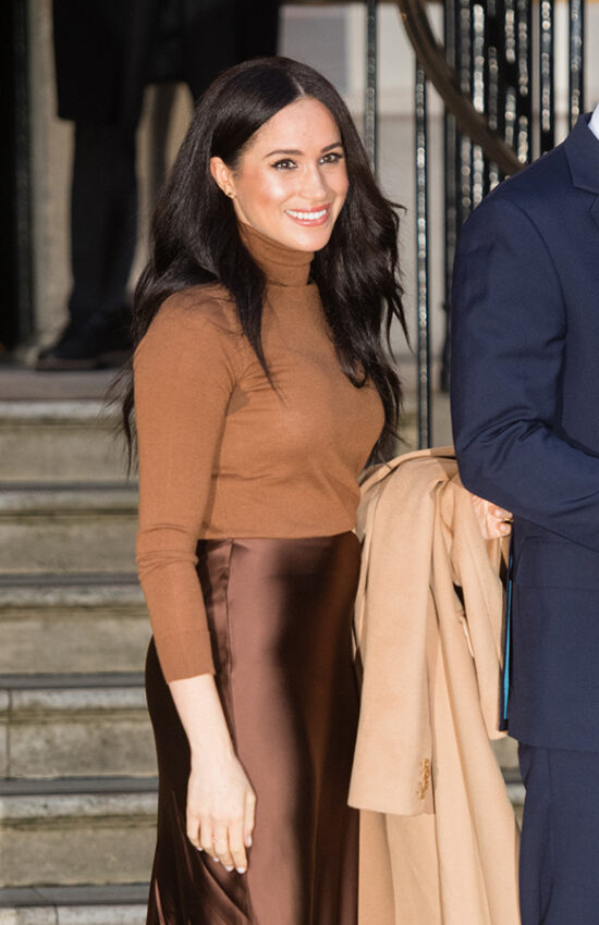 Meghan Markle's 9 Best Satin Style Moments