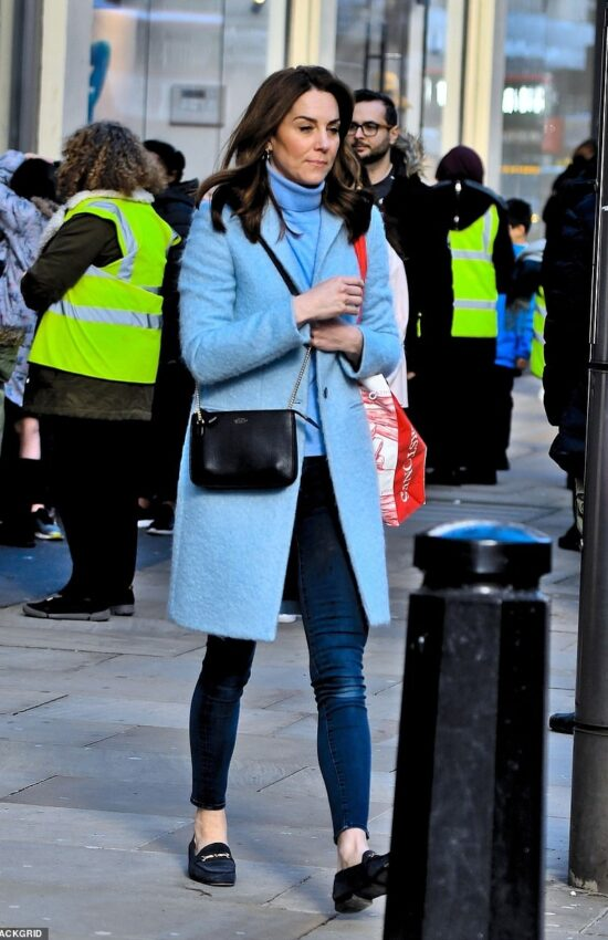 Kate Middleton Spotted Buying Books on Kensington High Street
