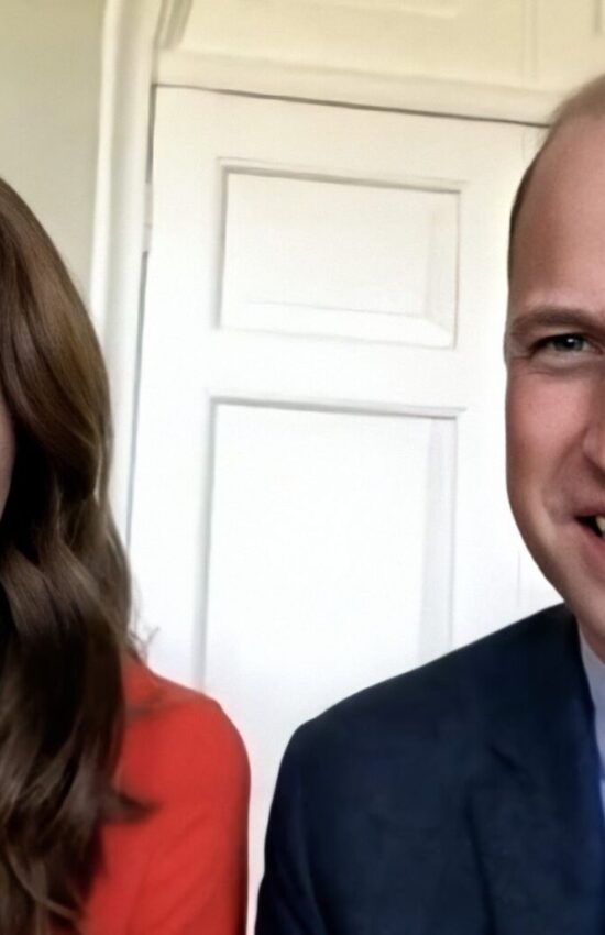 Kate Middleton in Cayla Dress for Video Call on VE Day