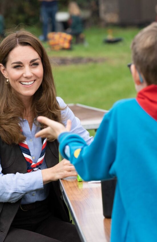 Kate Middleton Joins the Scouts and Takes on a New Role