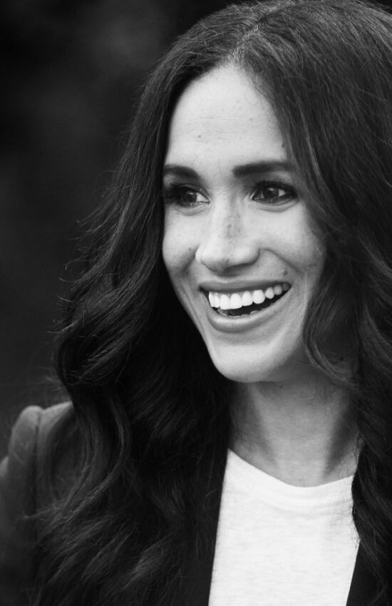 Meghan Markle and Prince Harry Appear in Official Portrait for Time Magazine