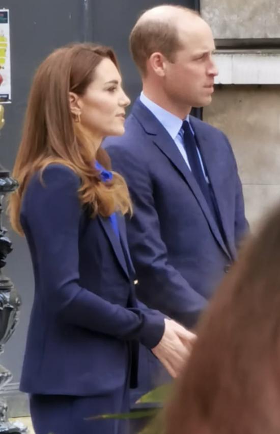 Kate Middleton in Smythe Blazer for Filming for Pride of Britain Awards