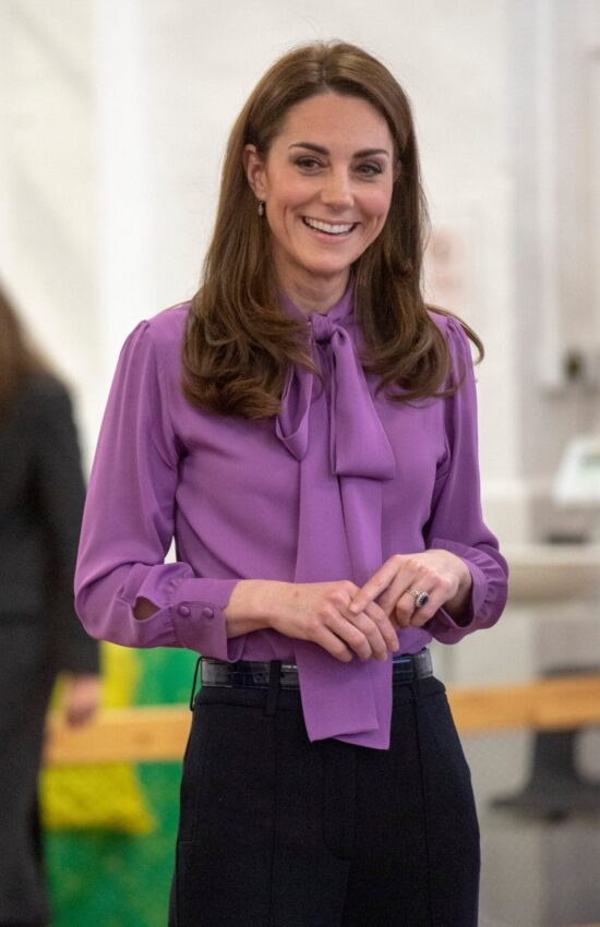 Kate Middleton Loves a Fun Blouse Detail and We're Here for It